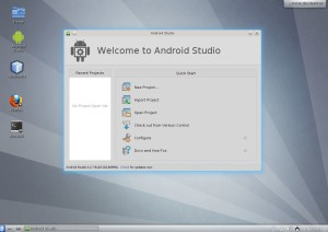 Slackware 14 with Android Studio